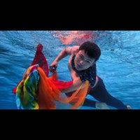 Photo taken at ATLANTIS swimming pool by Afriza Aziz (. on 12/12/2014