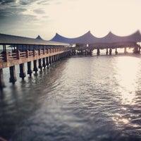 Photo taken at Jetty Point Kuala Perlis by MOHD SABRI A. on 11/10/2013