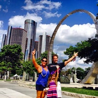 Photo taken at Downtown Detroit by Brian S. on 7/13/2014