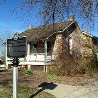 Photo taken at John Speer Farmhouse Site by Dana R. on 4/6/2013