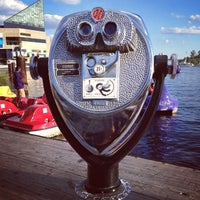 Photo taken at Inner Harbor Paddle Boat Dock by Phillip A. on 9/23/2012