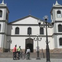 Photo taken at Paróquia Nossa Senhora da Piedade by Érika C. on 3/16/2014
