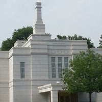 Photo taken at Winter Quarters Nebraska Temple by Ben F. on 7/5/2013