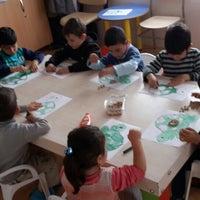Photo taken at Antalya Büyükşehir Belediyesi Santral Aile Eğitim ve Sosyal Hizmet Merkezi by Ahu E. on 3/19/2015