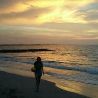 Photo taken at Playas Coveñas by Daniel R. on 7/21/2015