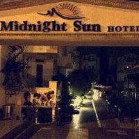 Photo taken at Midnight Sun Hotel by Nihat E. on 7/28/2016