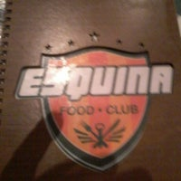 Photo taken at Esquina Food Club by Igor G. on 4/27/2014