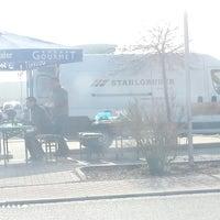 Photo taken at Schaschlik Stand by Denis P. on 3/8/2014
