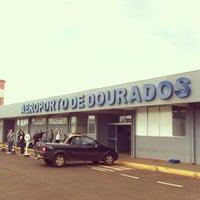 Photo taken at Aeroporto de Dourados (DOU) by Luis F. C. on 5/27/2013