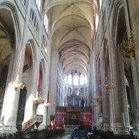 Photo taken at Cathédrale Sainte Marie by Víctor d. on 4/21/2014