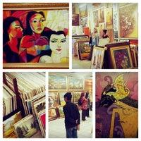 Photo taken at Galeri Lukisan Hijauart.com by Heh H. on 3/17/2014