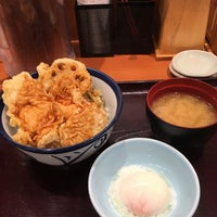 Photo taken at 天丼てんや 平塚田村店 by k m. on 7/21/2017
