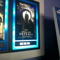 Photo taken at CineMundo by Daniela S. on 11/24/2012