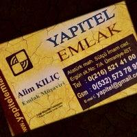 Photo taken at Yapıtel Emlak by Alim K. on 9/18/2014