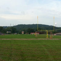 Photo taken at Poca Football Field by Jonathan M. on 8/27/2013