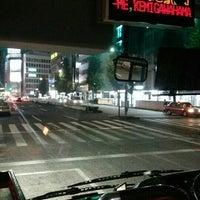 Снимок сделан в 新宿駅西口バスターミナル 23番のりば пользователем Sun K. 11/2/2015