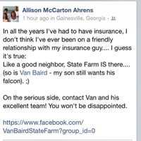 Photo taken at Van Baird - State Farm Insurance Agent by Van B. on 3/6/2013