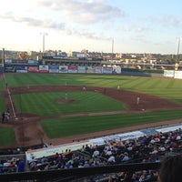 Photo taken at Principal Park by Deb P. on 8/19/2014