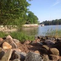 Photo taken at Kesärannan ranta by SaBine O. on 5/25/2014
