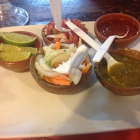 Photo taken at Taquería Ándale by Monica L. on 9/28/2015