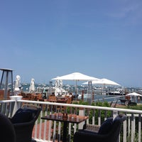 Photo taken at Great Harbor Yacht Club by Tre N. on 7/7/2014