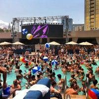 Photo taken at Wet Republic Ultra Pool by Lauren S. on 6/30/2013