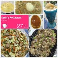 Photo taken at Kevin's Balong Restaurant by Glenz V. on 10/27/2014