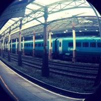 Photo taken at Platform 5 by Melanie A. on 7/3/2013