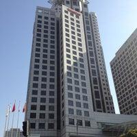 Photo taken at The Westin Bund Center, Shanghai by Thomas Y. on 12/6/2012
