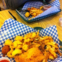 Photo taken at Lazy Joe's Fish & Chips by Quick Assist Lending on 2/21/2014