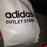 Photo taken at Adidas outlet store by Ely P. on 3/18/2014
