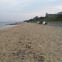 Photo taken at Popponesset Beach by Jason M. on 8/16/2014