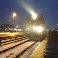 Photo taken at Metra - Arlington Heights by Jon J. on 2/7/2013