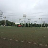 Photo taken at トヨタスポーツセンター サッカー場(人工芝グラウンド) by Hideyuki Y. on 6/21/2014