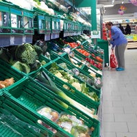 Photo taken at Carrefour Market by Vincent S. on 3/22/2014