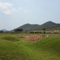 Photo taken at สุสานเจ็งเล้ง by David C. on 3/29/2014