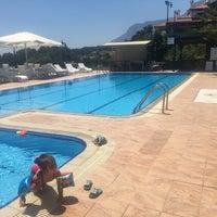 Photo taken at Villa Marine Apart Hotel by TC Tuğba C. on 7/7/2017