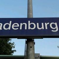 Photo taken at Bahnhof Ladenburg by Nils S. on 9/9/2016