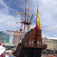 Photo taken at Historic Ships in Baltimore by Rachelle F. on 9/14/2014
