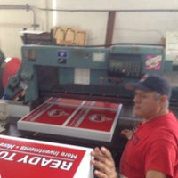 Photo taken at Serigraph Screen Printing Corporation by Gregory G. on 3/31/2014