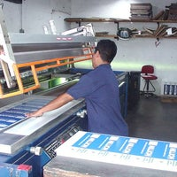 Photo taken at Serigraph Screen Printing Corporation by Gregory G. on 2/24/2014