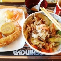 Photo taken at Yoshinoya (吉野家) by Sawung G. on 4/22/2013