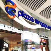 Photo taken at Plaza Singapura by Sawung G. on 5/4/2013