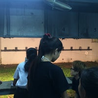 Photo taken at Shooting Range by Channarong T. on 8/27/2014