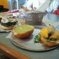 Photo taken at The Burger Guys by Brilliant Black D. on 10/5/2012