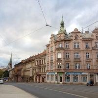 Photo taken at Anglické nábřeží (tram) by Alexey S. on 10/3/2012