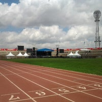 Photo taken at The Nyayo National Stadium by Ernest K. on 12/31/2012