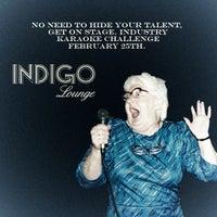 Снимок сделан в Indigo Lounge пользователем Christina C. 2/24/2014