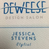Photo taken at DeWeese Design Salon Inc. by Jess S. on 3/8/2013