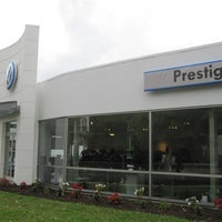 Photo taken at Prestige Volkswagen of Stamford by Prestige Volkswagen of Stamford on 2/24/2014